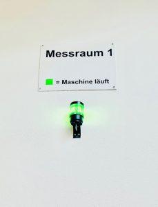 A.D.O. Maschinenpark Messraum
